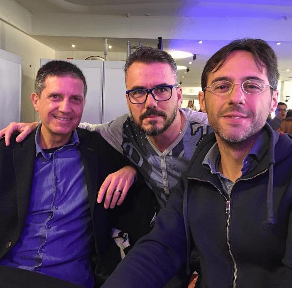 (De Izquierda a Derecha) Raimon Samsó, José Miguel García y Sergio Fernández